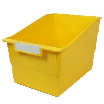 Wide Tattle Shelf File - Yellow