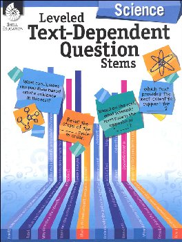 Leveled Text-Dependent Question Stems - Science