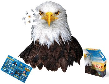 I AM Eagle Puzzle 550 pieces (Madd Capp Puzzles)