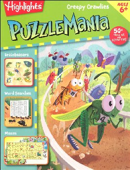 Puzzlemania: Creepy Crawlies