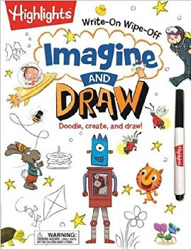 Highlights Write-On Wipe-Off - Imagine and Draw