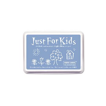 Light Blue Just for Kids Ink Pad