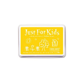 Yellow Washable Ink Pad