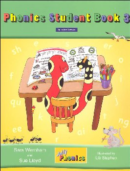 Jolly Phonics Student Book 3 Color Edition