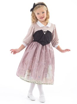 Sleeping Beauty Day Dress with Headband - Medium