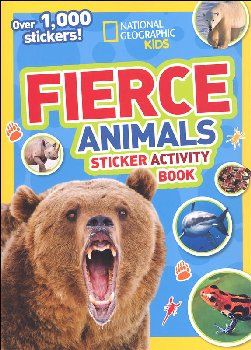 Fierce Animals Sticker Activity Book (National Geographic Kids)