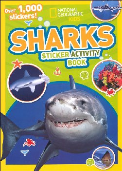 Shark Sticker Activity Book (National Geographic Kids)