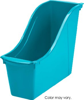 Book Bin Small - Teal