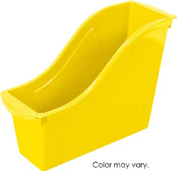 Book Bin Small - Yellow