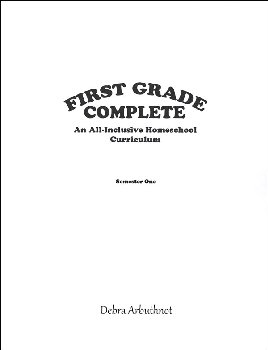 First Grade Complete: Semester 1 Student Refill
