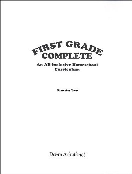 First Grade Complete: Semester 2 Student Refill