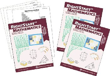 RightStart Mathematics Level F Book Bundle 2nd Edition