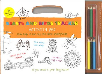 Beasts and Birds Tracker Activity Pad (Outdoor Activity Pads)