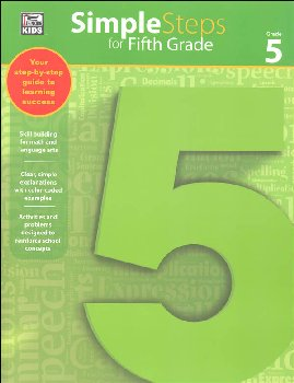 Simple Steps for Fifth Grade Workbook