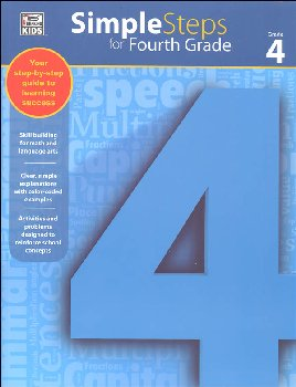 Simple Steps for Fourth Grade Workbook
