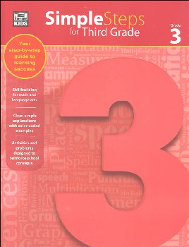 Simple Steps for Third Grade Workbook