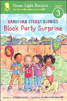 Bradford Street Buddies Block Party Surprise (Green Light Readers Level 3)