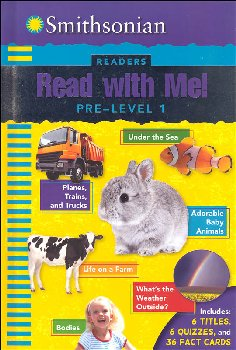 Smithsonian Readers: Read With Me! Pre-Level 1