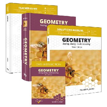 Geometry Curriculum Pack with DVD's (Jacobs)