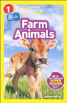 Farm Animals (National Geographic Readers Level 1 Co-reader)
