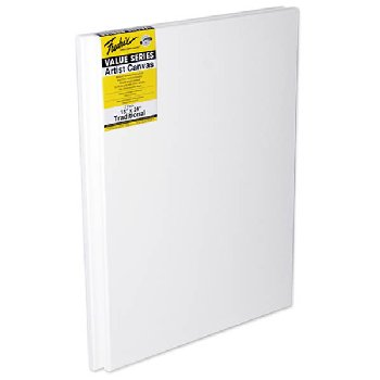 "Value Series Stretched Canvas  18"" x 24"" - Pack of 2"