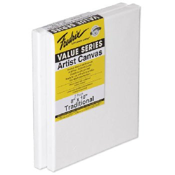 "Value Series Stretched Canvas  8"" x 10"" - Pack of 2"