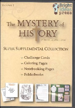 Mystery of History Volume 1 Super Supplemental Collection CD