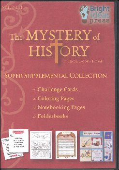 Mystery of History Volume 3 Super Supplemental Collection CD