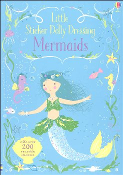 Little Sticker Dolly Dressing - Mermaids