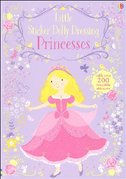 Little Sticker Dolly Dressing - Princesses