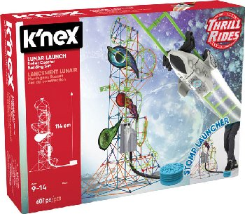 Lunar Launch Roller Coaster Building Set