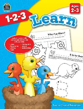 1-2-3 Learn - Ages 2-3