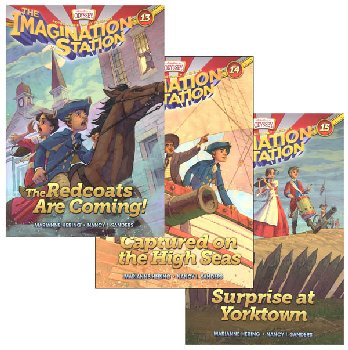 Imagination Station Books 13-15 Pack (Adventures In Odyssey)