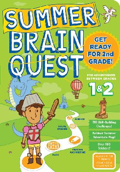Summer Brain Quest - Between Grades 1 & 2