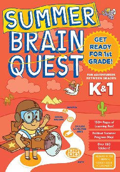 Summer Brain Quest - Between Grades K & 1