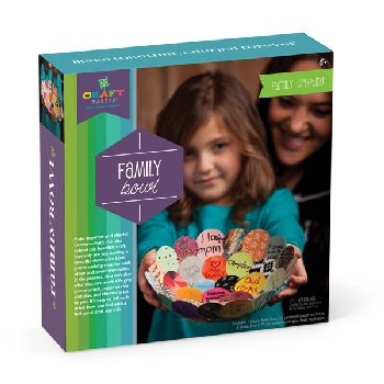 Family Bowl Make Together Craft Kit