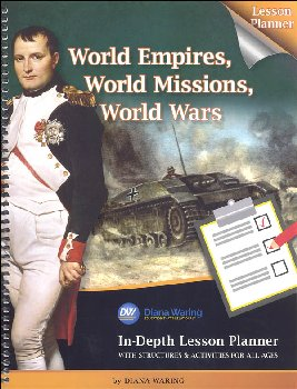 World Empires, World Missions, World Wars In-Depth Lesson Planner