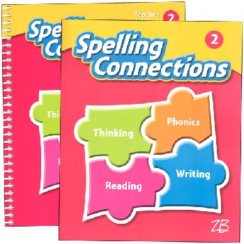 Zaner-Bloser Spelling Connections Grade 2 Homeschool Bundle (2016 edition)