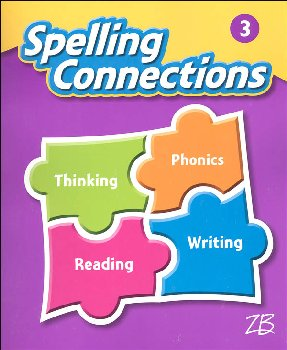 Zaner-Bloser Spelling Connections Grade 3 Student Edition (2016 edition)