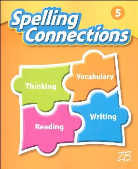 Zaner-Bloser Spelling Connections Grade 5 Student Edition (2016 edition)
