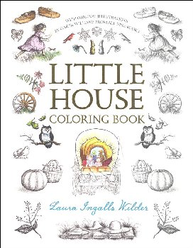990+ Little House Coloring Book Best HD