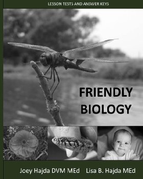Friendly Biology Lesson Tests and Answer Keys