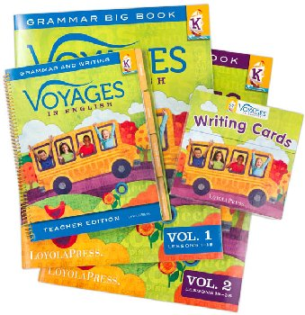 Voyages in English 2018 Kindergarten Kit with Teacher Edition