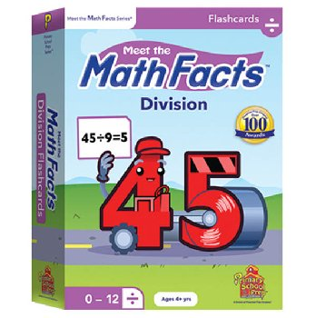 Meet the Math Facts Division Flashcards