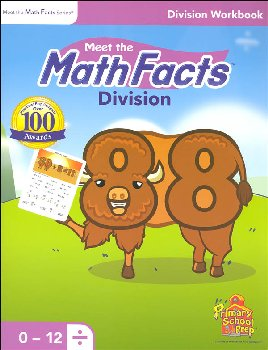 Meet the Math Facts Division Workbook