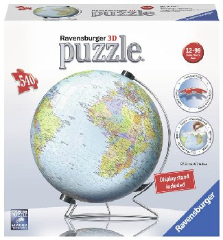 Earth 3D Puzzle Globe