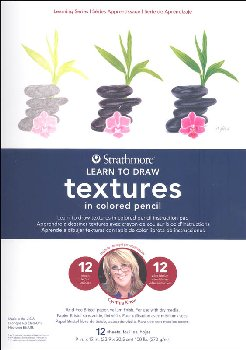 Learn to Draw Textures in Colored Pencil