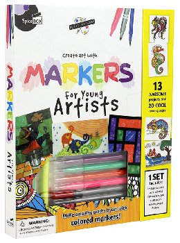 Markers for Young Artist (Petit Picasso)