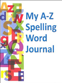 My A-Z Spelling Word Journal