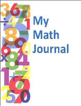 My Math Journal - 32 pages (with Solution Grid)